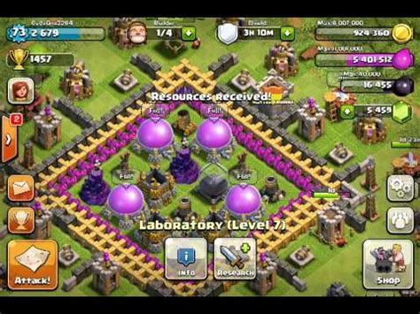 clash of clans max levels clash of clans buying level 6 troops youtube