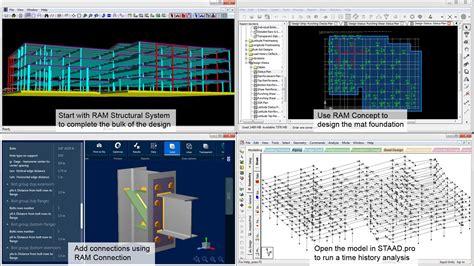design frame software structural steel connection design software ram connection
