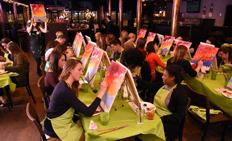 paint nite lethbridge 25 for a ticket to paint nite a 45 value wagjag