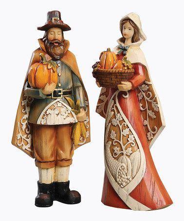 9 pilgrim figurine set
