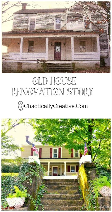 renovating an old house old house renovation chaotically creative