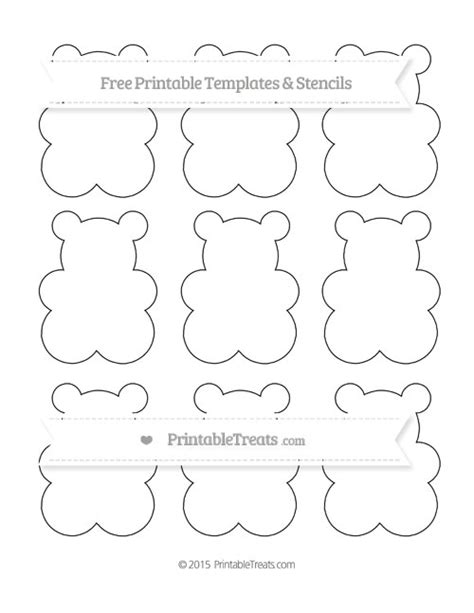 small template to print free printable small gummy template printable