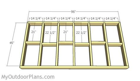 how to frame a floor attractive 12x20 shed plans