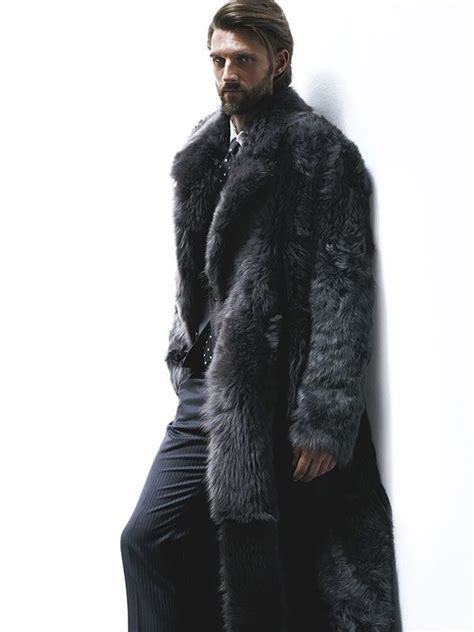 Winter Coat Wol Inner Saten 1000 images about fur for real dudes on mens