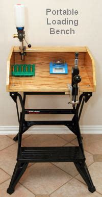 portable reloading bench portable b d workmate reloading bench 171 daily bulletin