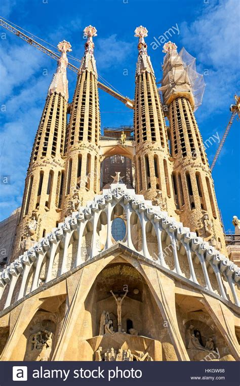 antoni gaudi create your sagrada familia cathedral design by antoni gaudi barcelona stock photo royalty free image