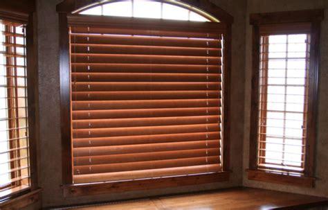 custom motorized wooden faux wood window blinds