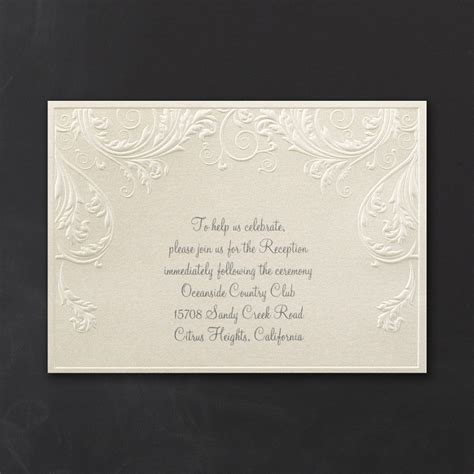 Carlson Craft Wedding Invitations by Cheap Carlson Craft Wedding Invitations Wedding