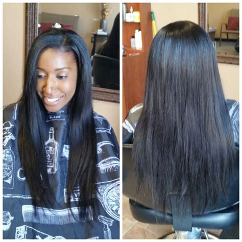 how to leave hair out for sew in hair mob member photos collections