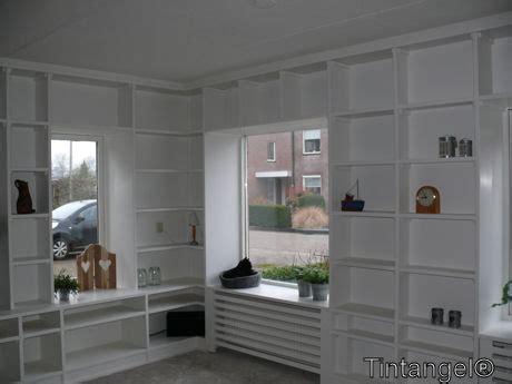 kast naast bank inbouwkast woonkamer hoek