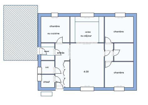 Plan Maison 90m2 Plain Pied 4345 plan maison 90m2 plain pied plan de maison plain pied 3