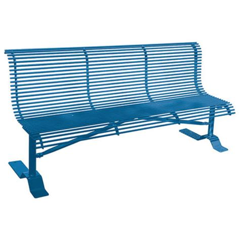 metal sports bench benches for parks and sports fields