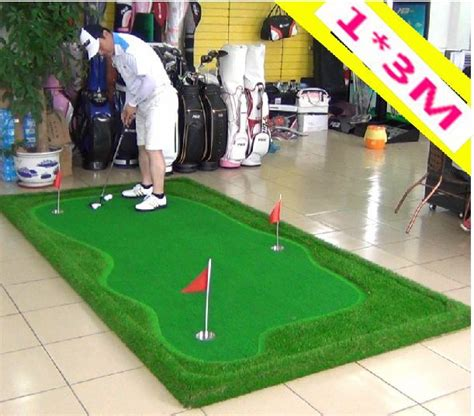indoor golf swing practice pgm indoor golf putter trainer practice set putting