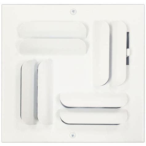 speedi grille 6 in x 6 in ceiling or wall register with