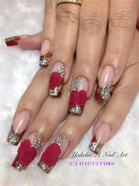 acrylic nails for valentines valentines acrylic nail judie s favorite nails