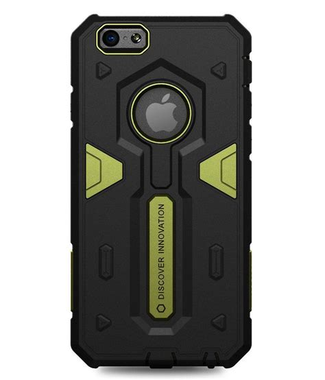 Nillkin Defender Iphone 6 Plus nillkin defender shockproof back cover made for apple iphone 6 plus green and black buy