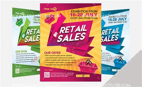 Collection Of 27 Marketing Flyer Templates Free Premium Download