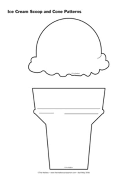 results for ice cream cone pattern preschool guest