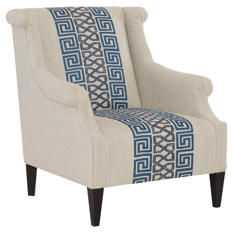 beige armchair callixto modern blue greek grey beige armchair kathy kuo home