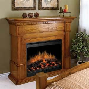 Oak Electric Fireplace Dimplex Essex Oak Electric Fireplace At Hayneedle