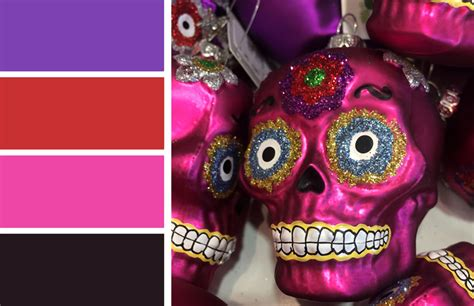 day of the dead colors fall color inspiration day of the dead dia de los
