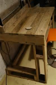Diy Computer Desk Plans Diy Pallet Computer Desk And Chair Pallet Furniture Plans