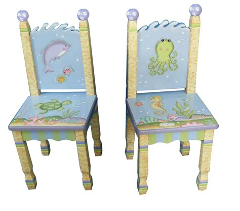 Under The Sea Furniture by Dreamfurniture Com Teamson Kids Set Of 2 Chairs Under