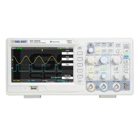 Oscilloscope Siglent Sds 1202 Cnl siglent sds1202cnl oscilloscope sds1202cnl digital