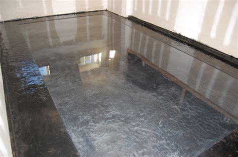 Pauls Garage ? Metallic Epoxy Floor ? Stamped Slate