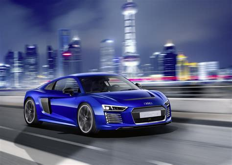Audi R8 E Tron by Official Audi R8 E Tron Piloted Driving Concept Gtspirit