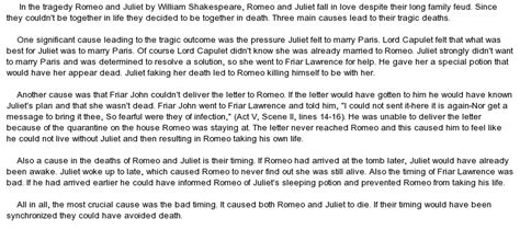 Romeo And Juliet Essay Questions And Answers by Romeo And Juliet Essay Sle College Romeo And Juliet Essay Questions And Answers Titanic