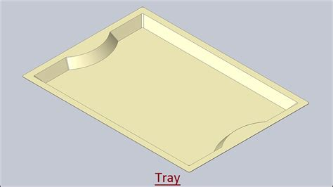 pattern sketch solid edge tray solid edge tutorial youtube