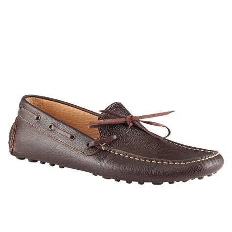 brown loafers for aldo ekbert loafers in brown for brown lyst