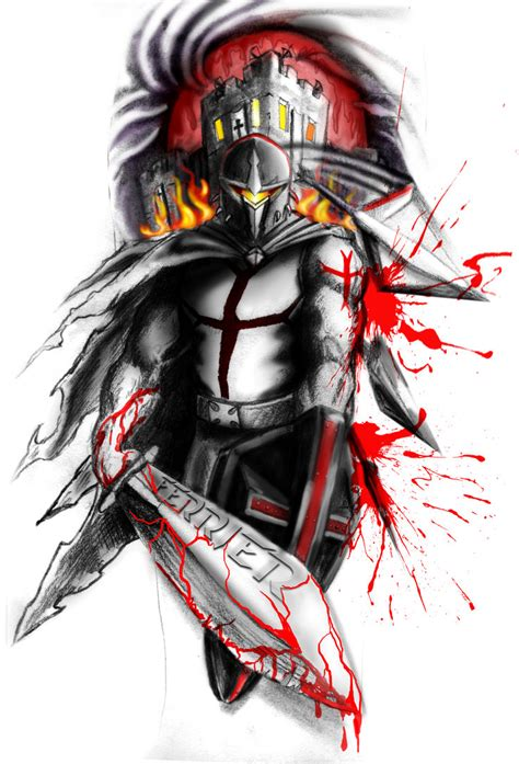 templar warrior by neogzus on deviantart