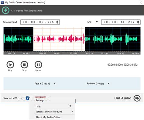 download mp3 cutter for linux my audio cutter download