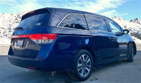 Honda S 2014 Odyssey Touring Review 2014 Honda Odyssey Touring Elite The Family