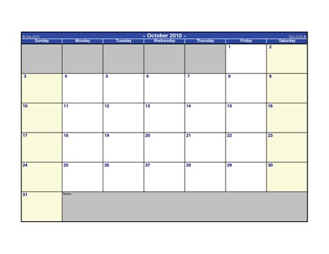 Microsoft Word 2010 Calendar Template Microsoft Word Calendar Template Great Printable Calendars