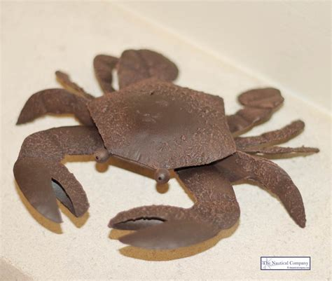 how to make medium size ornaments out of construction paper metal crab decor brown tin ornament the nautical company uk