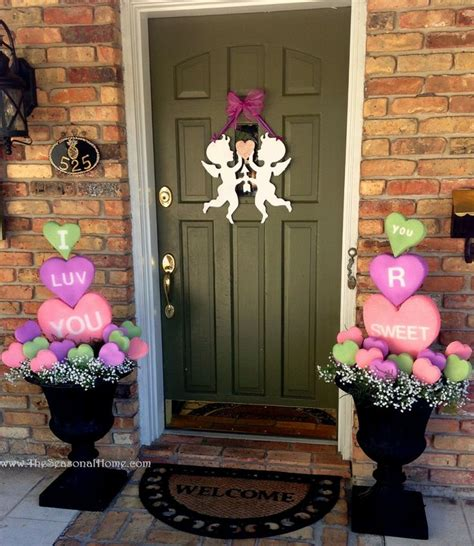 valentine decoration ideas 25 creative outdoor valentine d 233 cor ideas digsdigs