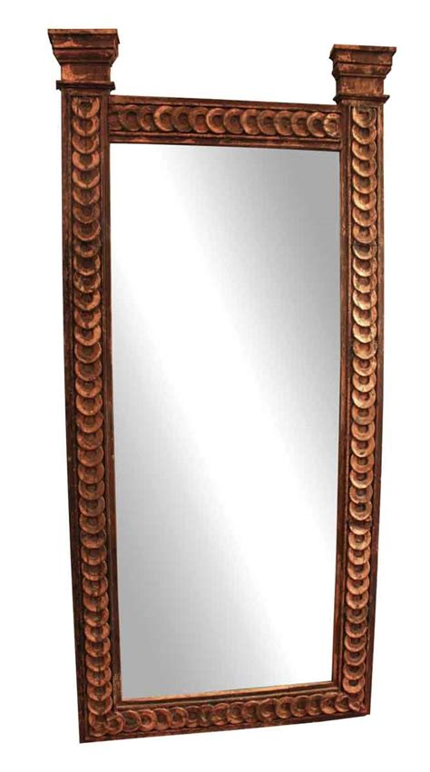 Handmade Mirror - handmade salvaged copper mirror olde things