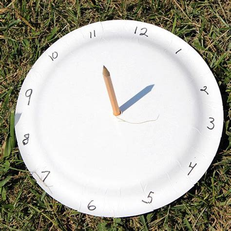 How To Make A Sundial With A Paper Plate - 17 best images about n 225 pady pro 蝣d on