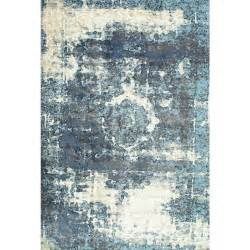 11 X 14 Area Rugs Nuloom Vintage Lindsy Blue 9 Ft 11 In X 14 Ft Area Rug Owtc01a 911014 The Home Depot