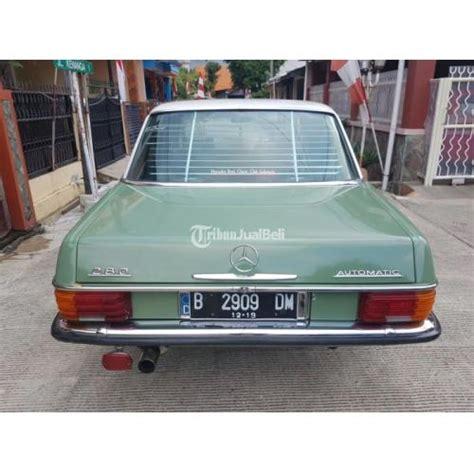 Mesin Fotocopy Warna Mini mercedes w114 mercy mini 280 tahun 1975 warna hijau