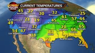 weather usa map usa currenttemperatures pngjan29 171 fox news weather