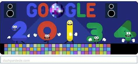 doodle jomblo inilah logo doodle tahun baru setiap tahunnya
