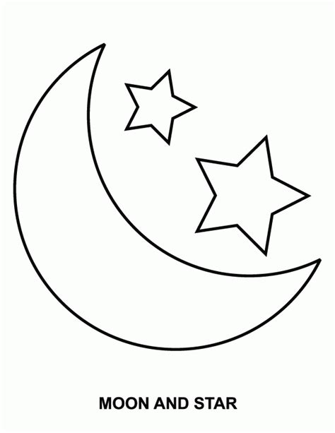 sun and moon coloring pages coloring home