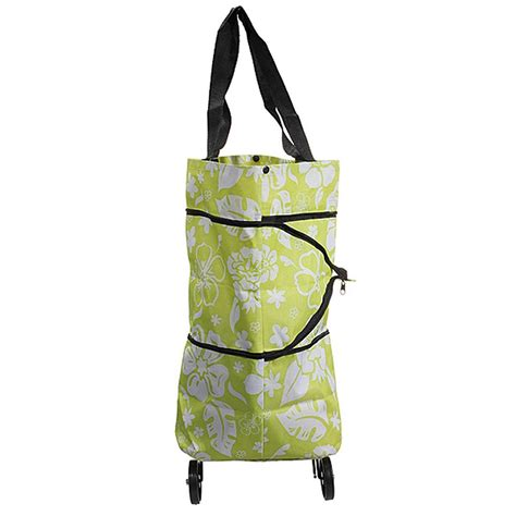 8 Fab Shopping Bags by Foldable Shopping Trolley Large Easy Foldable Shopping