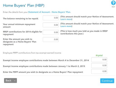 Home Buyers Plan | rrsp home buyers plan repayment form