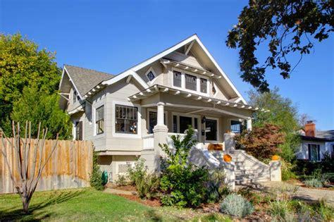 extraordinary craftsman home in east sacramento