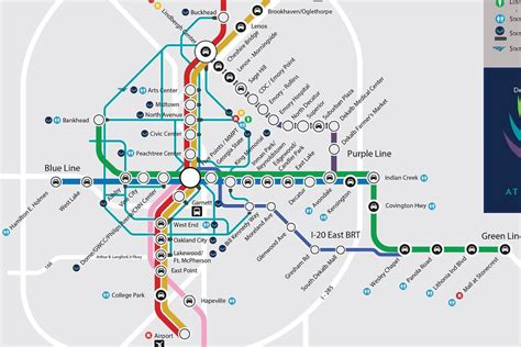 marta atlanta map greatest marta map could actually happen curbed atlanta